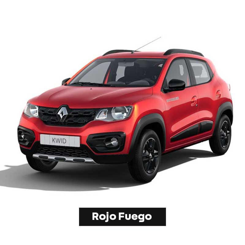 Kwid-Outsider-Rojo-Fuego-Boton